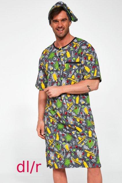 Pánská noční košile s dl.rukávem Cornette 110/05