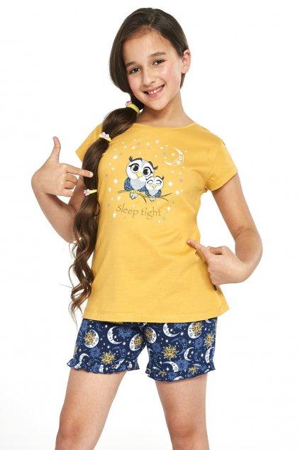 bavlněné dívčí pyžamoCornette488/86 Owls