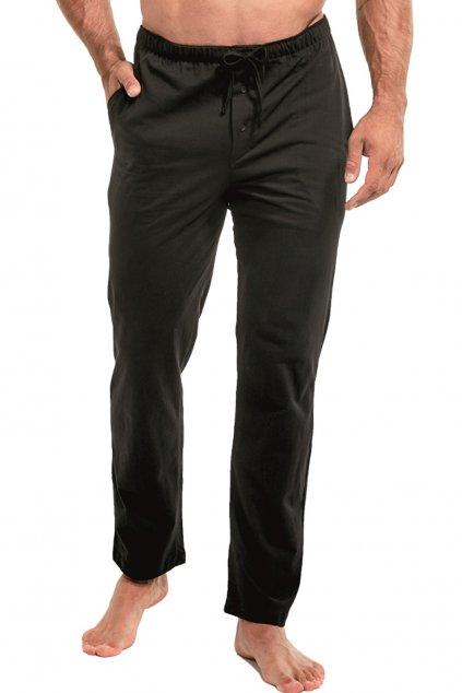 Pánské bavlněné pyžamové kalhoty Cornette 691/black.