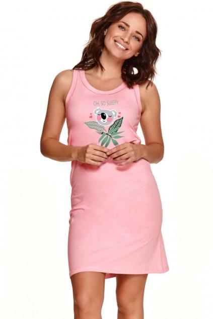 Krátká dámská bavlněná noční košile Taro 2493 Aurelia.
