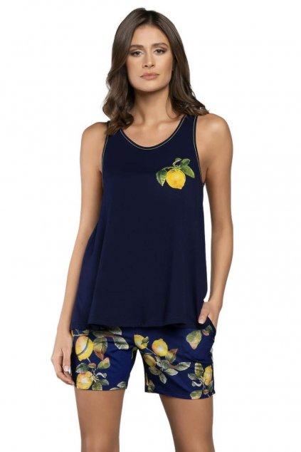 Dámské bavlněné pyžamo Italian Fashion Lemon