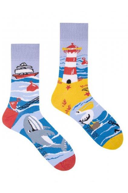 Veselé ponožky Spox SoxMoře.