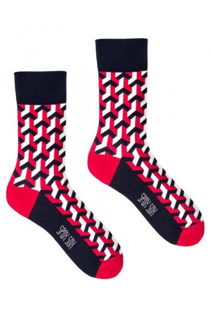 Veselé ponožky Spox Sox 3D.
