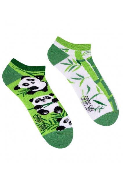 Veselé kotníkové ponožky Spox Sox Panda