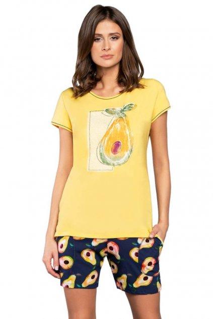 Dámské pyžamo s krátkým rukávem Italian FashionAvocado