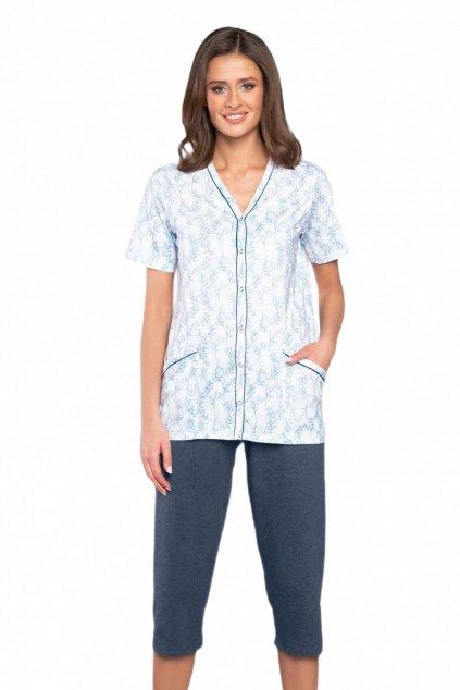 Dámské bavlněné pyžamo Italian Fashion Ludmila.