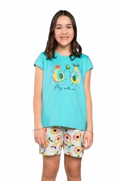 Dívčí bavlněné pyžamo Italian Fashion Avocado.