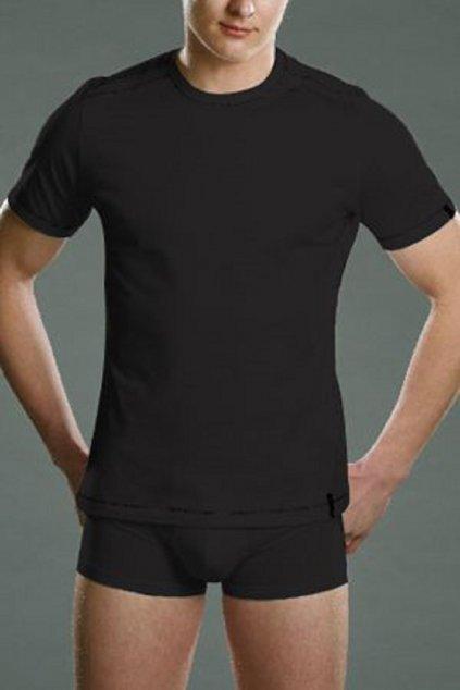 Pánské triko Cornette Authentic 230 Černá