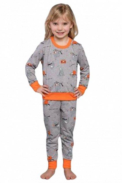 Dívčí pyžamo s dlouhým rukávem Italian FashionOrso.