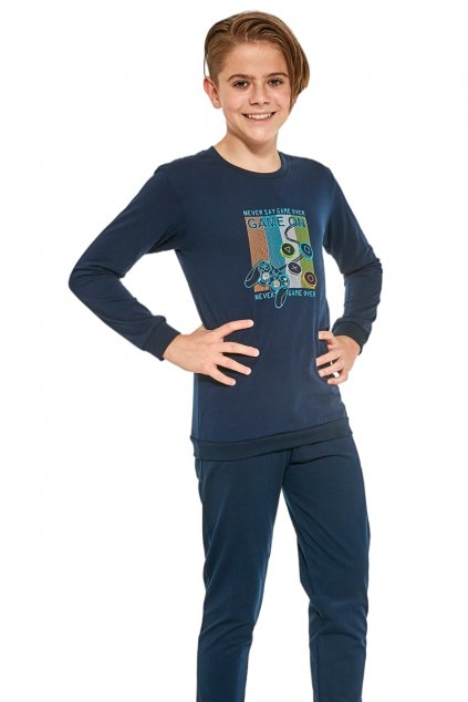 Chlapecké pyžamo Cornette 267/120 Game on