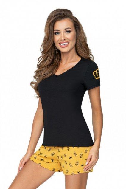 Dámské pyžamo Donna Princessa black