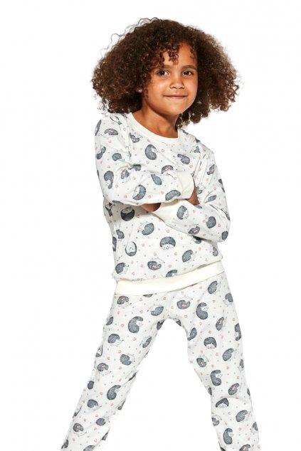 Dívčí bavlněné pyžamo s dlouhým rukávem Cornette033/141 Forest Dreams 2