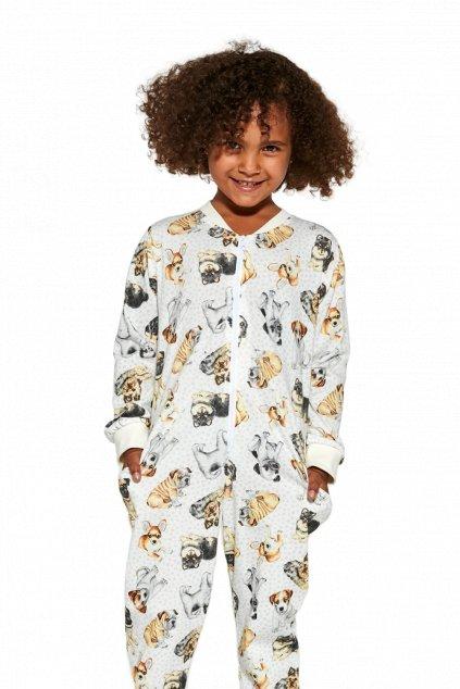 Dívčí pyžamový overal Cornette 384/146 Dogs 2