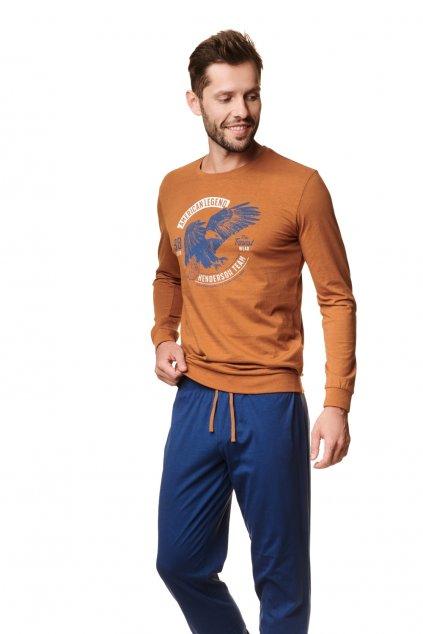 Pánské pyžamo s dlouhým rukávem Henderson 39252.