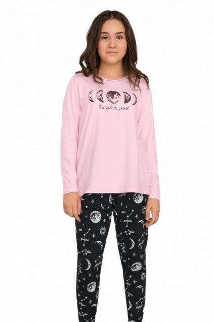 Dívčí pyžamo s dlouhým rukávem Italian Fashion Umbra.