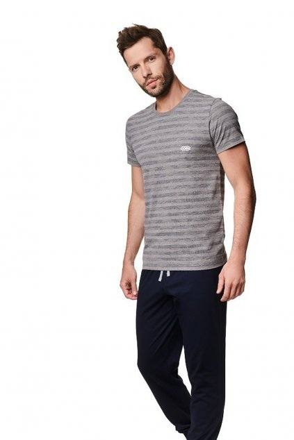 Pánské pyžamo s krátkým rukávem Henderson 39250.