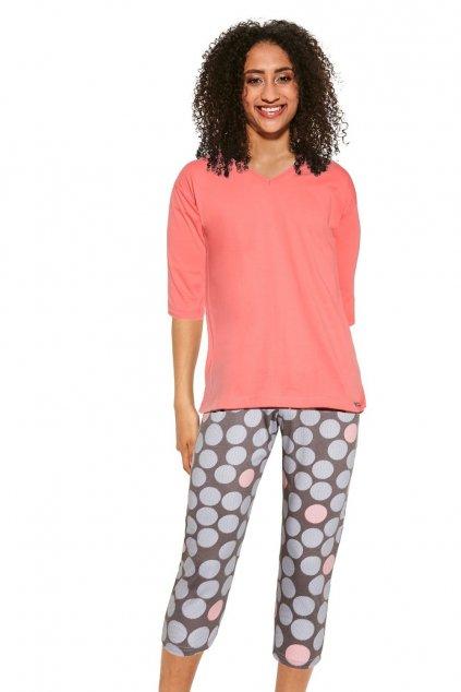 Dámské pyžamo s 3/4 rukávem Cornette 451/299 Mary.