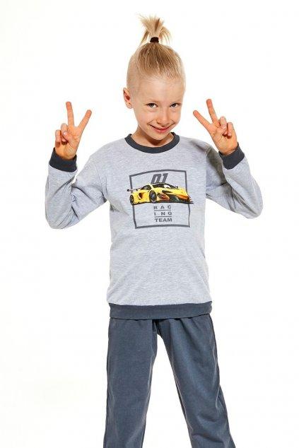 Chlapecké pyžamo s dlouhým rukávem Cornette 477/126 Team.