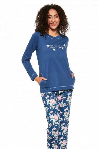 Dámské pyžamo/domácí komplet s dlouhým rukávem Cornette 679/286 Beautiful 2.