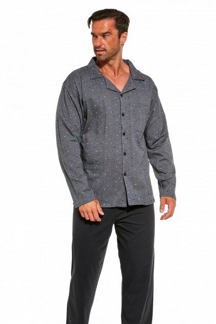 Pánské pyžamo na knoflíky Cornette 114/49