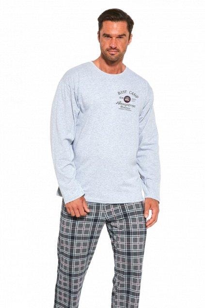 Pánské pyžamo dlouhé Cornette 124/185 Base Camp 3