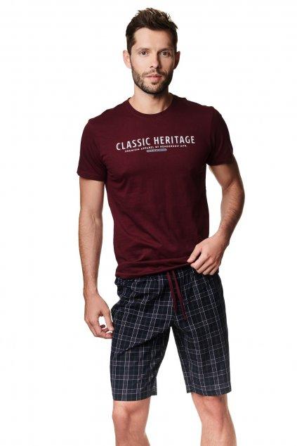 Pánské pyžamo s krátké Henderson 39243-83X