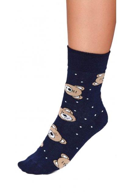 Veselé ponožky Doctor Nap 2203 bear.
