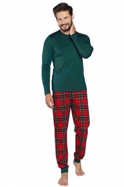 Pánské pyžamo dlouhé Italian Fashion Narwik
