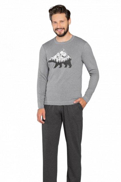 Pánské pyžamo dlouhé Italian Fashion Ural
