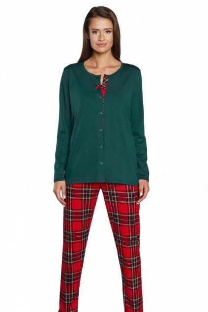 Dámské pyžamo dlouhé Italian Fashion Zorza