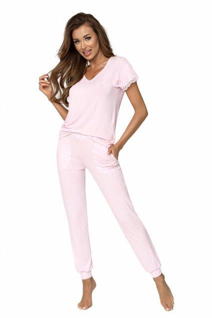 Dámské růžové pyžamo  Donna Demi pink