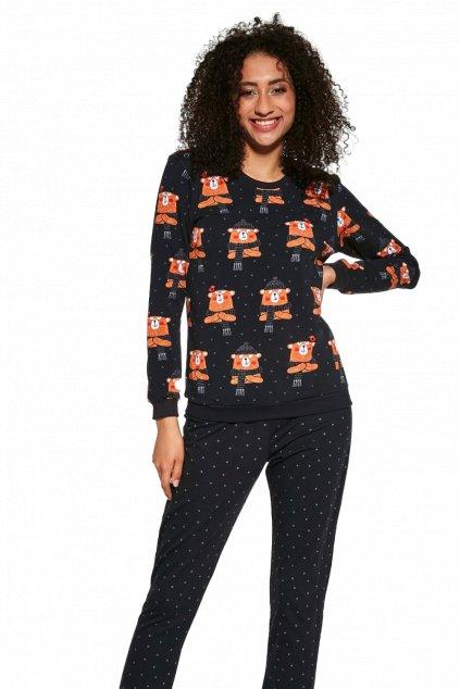 Dámské pyžamo dlouhé Cornette  455/278 BearDámské pyžamo s dlouhým rukávem Cornette 455/278 Bear.