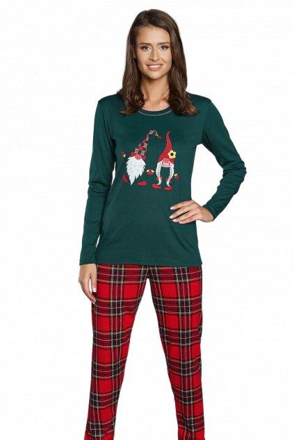 Dámské pyžamo dlouhé Italian Fashion Santa