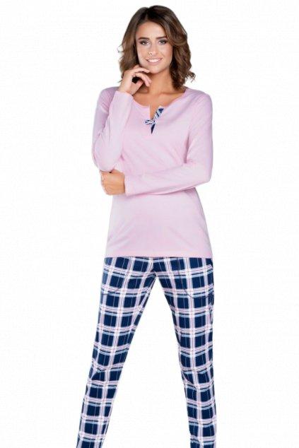 Dámské pyžamo dlouhé Italian Fashion Sanita pink