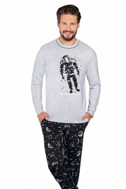 Pánské pyžamo dlouhé Italian Fashion Tryton