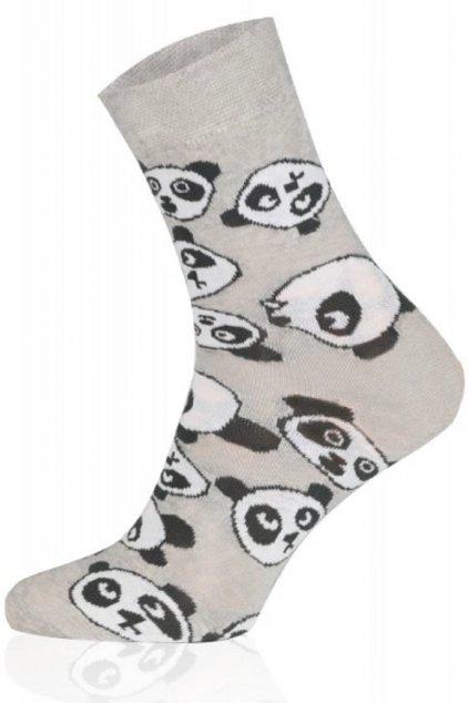 Veselé ponožky Gee One S 123D Panda.