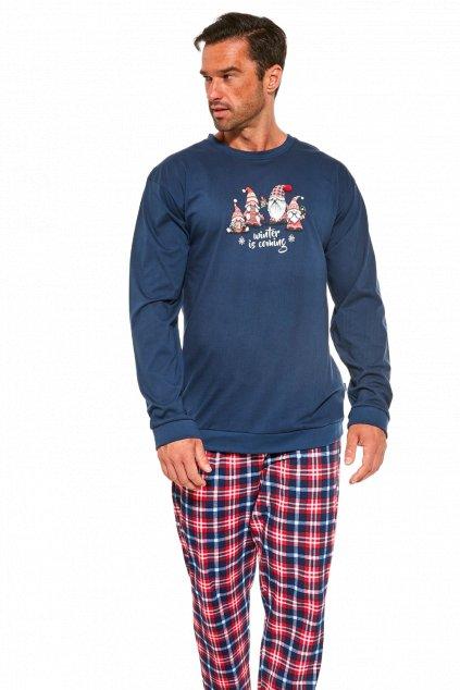 Pánské pyžamo s dlouhým rukávem Cornette 115/175 Gnomes.