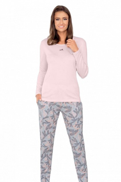 Dámské pyžamo dlouhé Italian Fashion Kamasja pink
