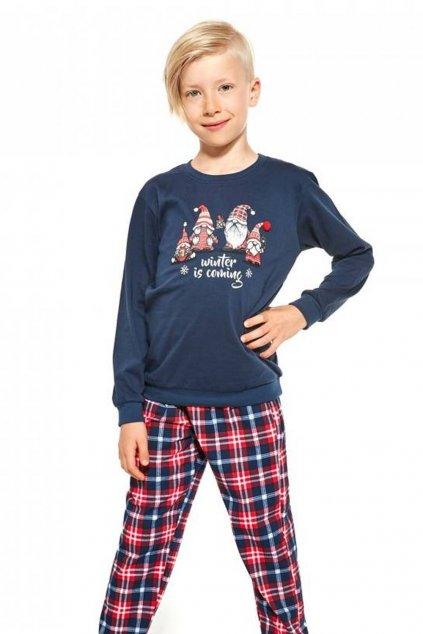 Chlapecké pyžamo s dlouhým rukávem Cornette 593/122 Gnomes.