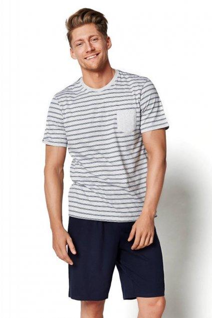 Pánské pyžamo Henderson 34982 šedá