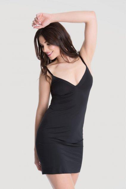 Spodnička Julimex Lingerie Soft & Smooth Černá