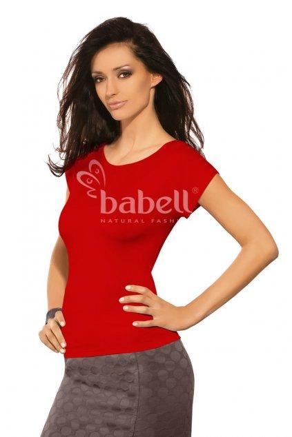 Dámské triko Babell Kiti červená