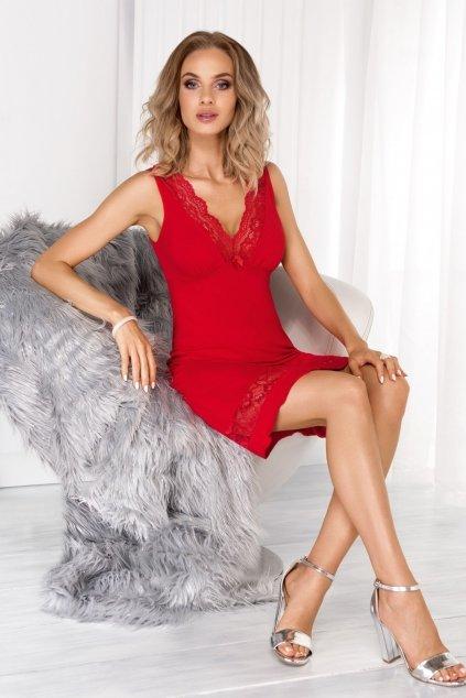 Dámská noční košile Donna Stella Červená