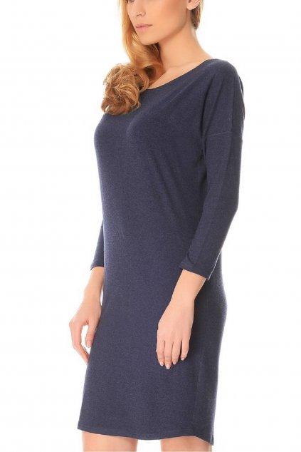 Dámská noční košile De Lafense Paula 543 modrá