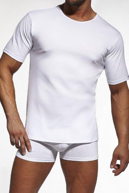 Pánské triko Cornette Authentic 202 Bílá