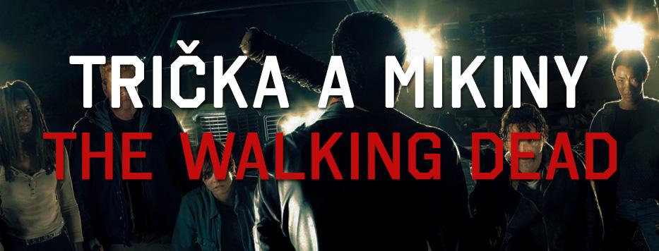 Trička a mikiny The Walking Dead