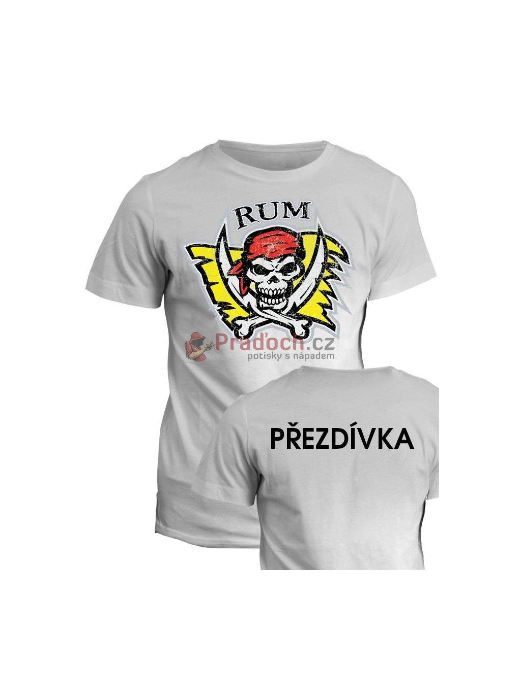 vodacke tricko rum