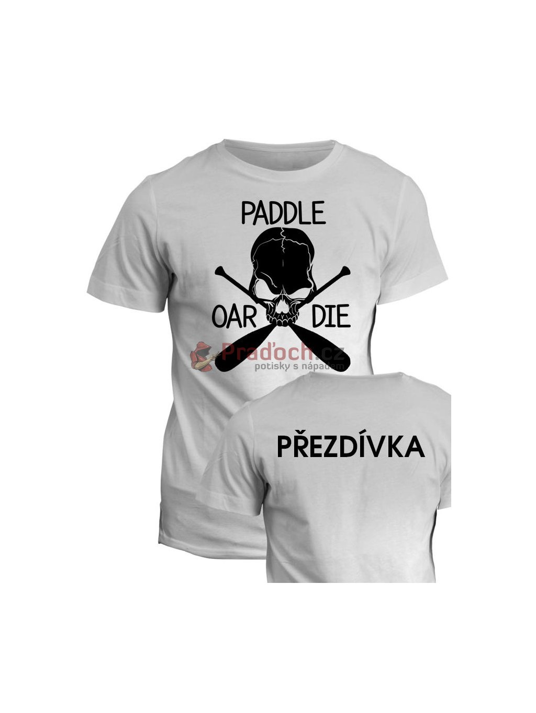vodacke tricko paddle oar die