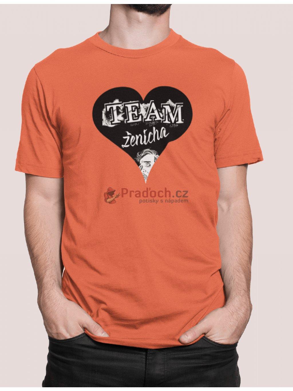 team zenicha heart shirt min