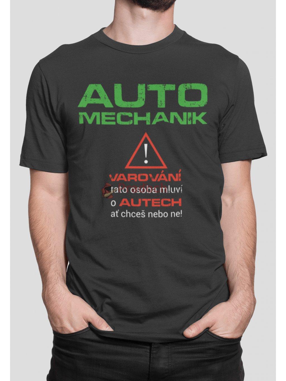 varovani automechanik cerne triko min